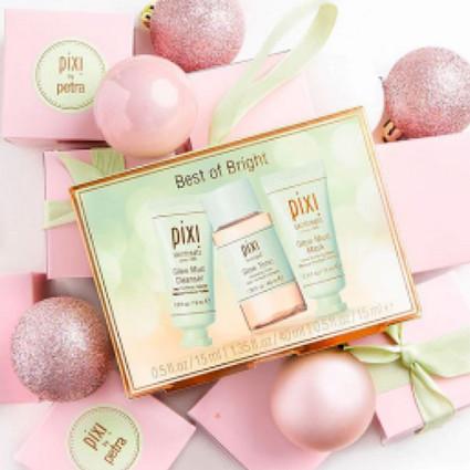 """明星大爱的Pixi植萃美肌品牌即将迎来在中国市场的首个新年 现携旅行便携版""""节日礼盒装""""重磅来袭"""