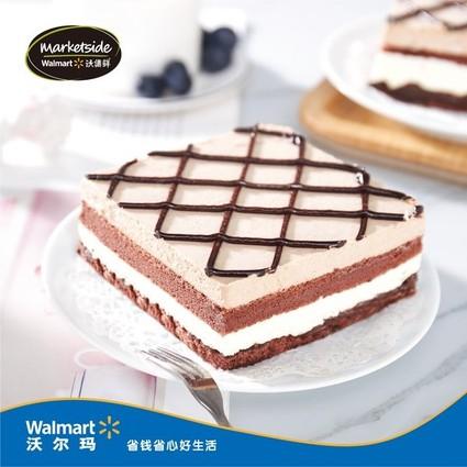 沃尔玛自有品牌沃集鲜携好时独家发售巧克力蛋糕新品