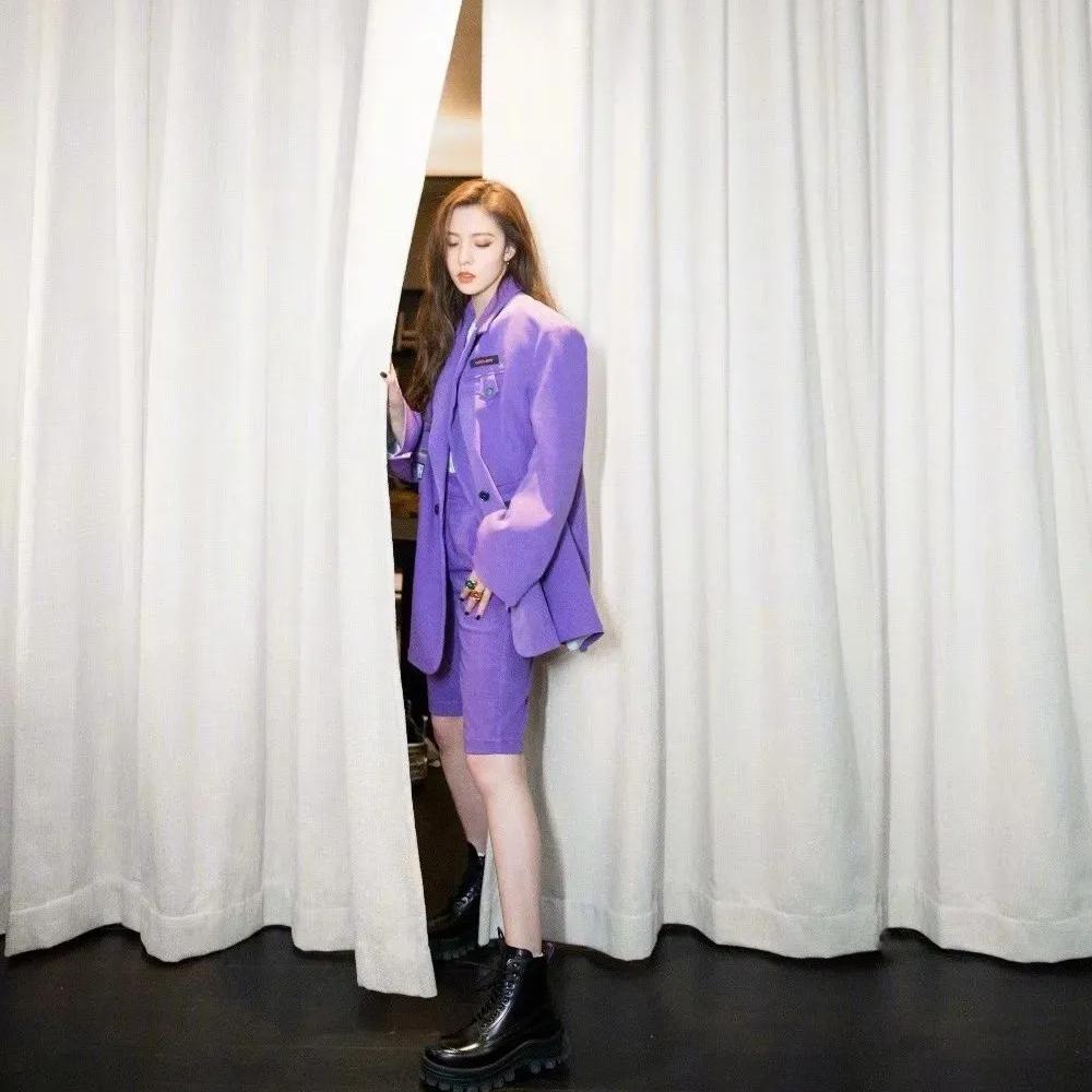 别总惦记BM风了,时尚界早就刮起了香芋紫!