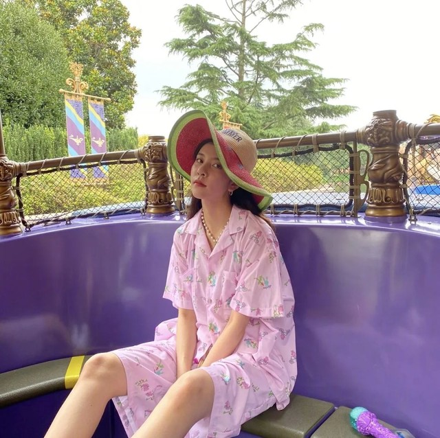 RG女孩宋妍霏:我穿的真的不是睡衣!