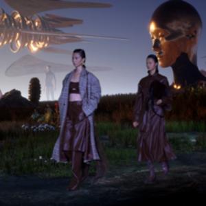 Marisfrolg2020万物花园秋冬时装秀 一场从未来到现实的时装旅程
