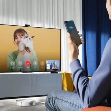 华为智慧屏 S系列发布 颠覆电视升级体验 打造以客厅为中心的家庭智慧中心