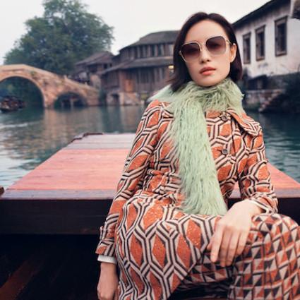 GUCCI 倪妮演绎古驰中国新年专属款太阳眼镜