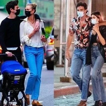 时尚芭莎90秒 来,看看超模们的优质伴侣