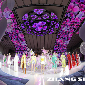 绽放隽永之美,ZHANGSHUAI 2022春夏大秀赞美女性力量