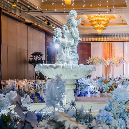 上海明天广场JW万豪酒店为你点亮浪漫婚典