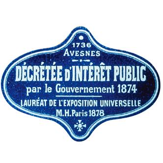 1874法国授予