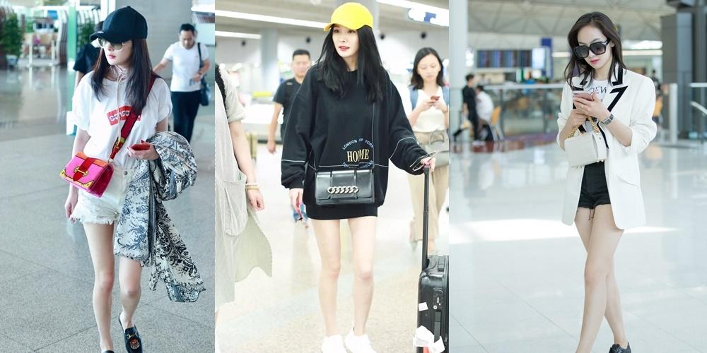 杨幂背了一款无穷美的包,原来女明星们早都买了这5只秋冬新款包!