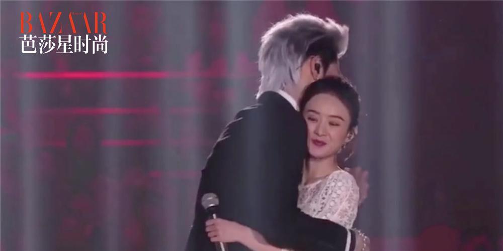 吴亦凡赵丽颖拥抱,李易峰浴袍4.0抢镜,跨年有点酷!