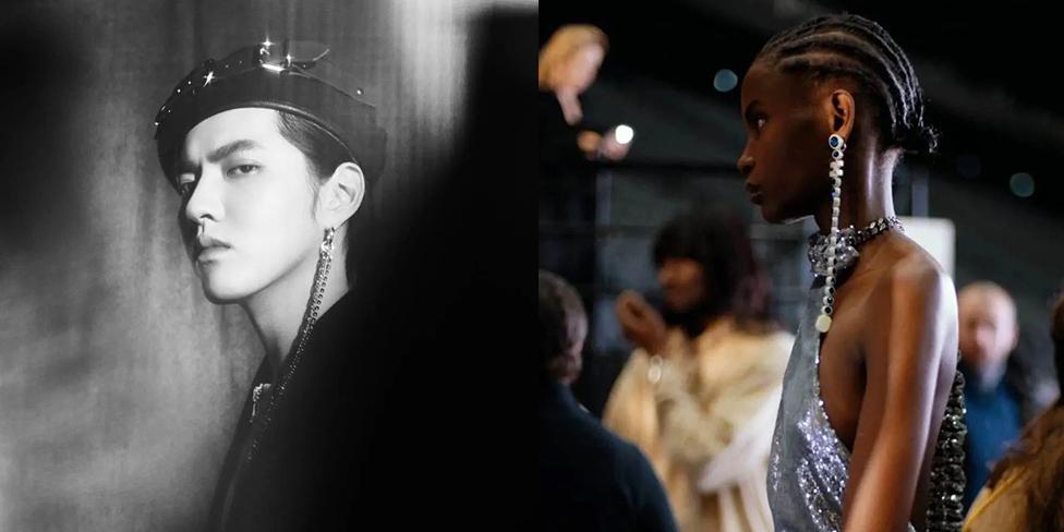 因为这款耳环,我在戴口罩的人群中多看了她一眼