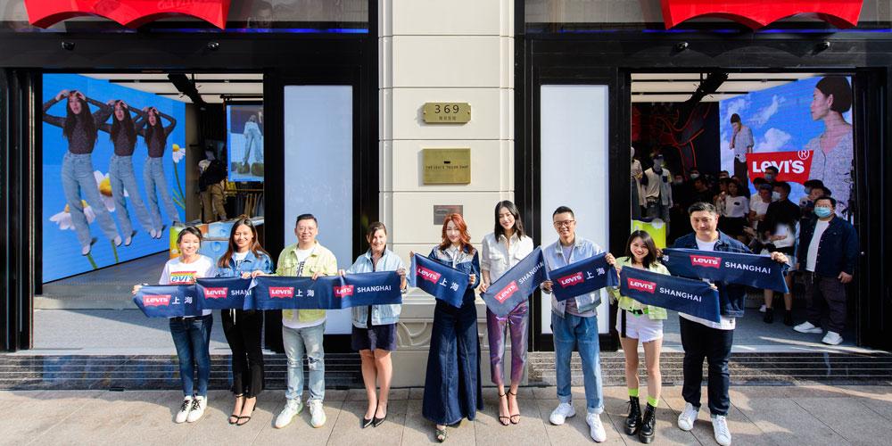 Levi's® 刘雯专访――丹宁梦工厂,潮流文化新地标