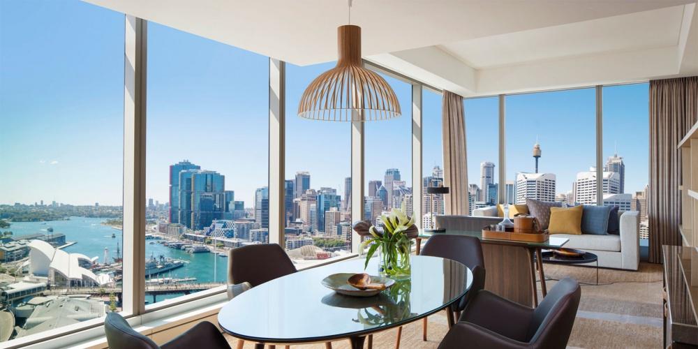 悉尼达令港索菲特酒店,带你远离城市,感受海港之美