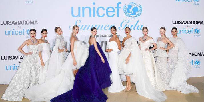 LuisaViaRoma 携手意大利联合国儿童基金会举办首届联合国儿童基金会国际慈善晚宴