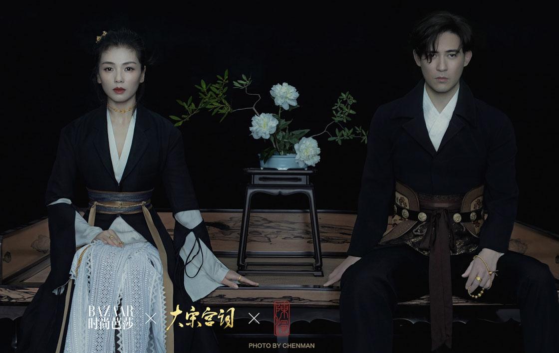 刘涛周渝民执手演绎《大宋宫词》风韵,构建东方电影时装美学