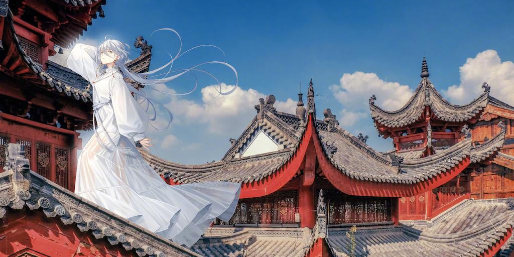 虚拟偶像首登封面,洛天依带你探寻藏于武汉的爱