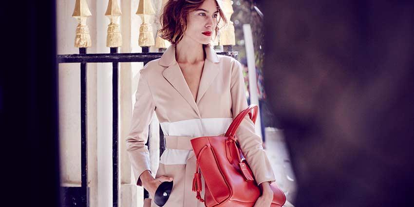 Longchamp春季广告大片 Alexa Chung倾情出镜