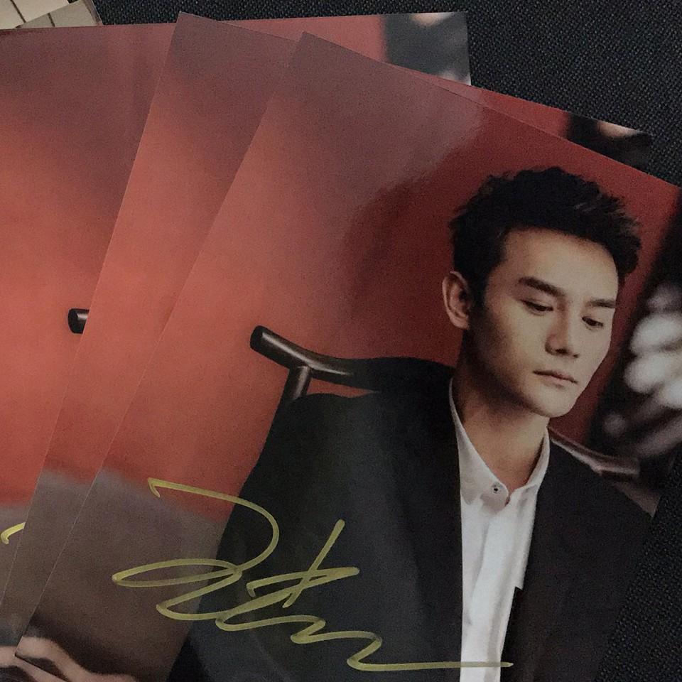 王凯亲笔签名照